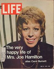 LIFE May 14,1971 Carol Burnett / Mississippi's Black Governor / Goodbye Bill Gra