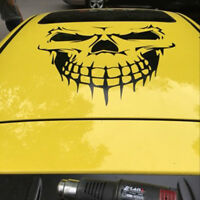 Large Vinyl Skull Hood Decal Graphic Sticker Car Truck Tailgate Window Decor DJ8