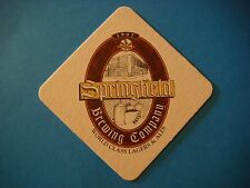 Beer Coaster <> SPRINGFIELD Brewing ~ World Class Lagers Since 1997 ~*~ MISSOURI