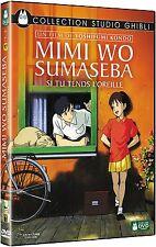 DVD Disney Studio Ghibli Si Tu Tends l'Oreille Y. Kondo Mimi Wo Sumaseba VF Neuf