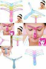 NEW Eyebrow Shaper template tool DIY Instagram Brow Arch Shaping Stencil