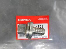 GENUINE HONDA CIVIC CRX DEL SOL CRANK PULLEY BOLT WASHER SET 14X29 SOHC VTEC
