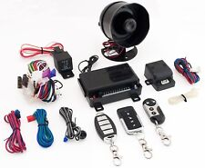 OMEGA K9 MUNDIAL-6 CAR 1-WAY SECURITY KEYLESS ENTRY ALARM SYSTEM W/SHOCK SENSOR