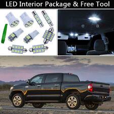 14PCS White LED Interior Car Lights Package kit Fit 2007-2014 Toyota Tundra J1