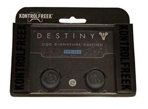 KontrolFreek Destiny Thumbsticks for PS4 PS5 Gray FPS Freek PlayStation CQC