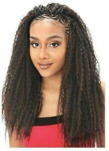 """Model Model Glance Brazilian Curl 20"""" Crochet Braids"""