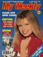 MY WEEKLY MAGAZINE 23/5/92 SEWING PATTERN CUDDY TOY MICKEY THE MONKEY