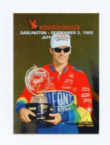 Jeff Gordon 1995 95 Zenith Winston Winners All Gold Foil Insert Card Pinnacle 23