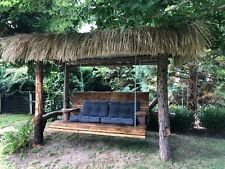 Seegrasdach Palmendach Schindel Schilfgras Blätter Reet Stroh Bar Dach Bambus