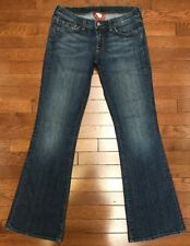 "Lucky Brand Zoe Low Rise Boot Cut Flare Jeans 6/28 Regular 32"" L EUC Made in USA"