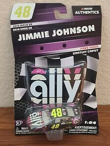 2019 Wave 5 Jimmie Johnson Ally Financial 1/64 NASCAR Authentics Diecast