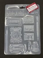 stamperia Texture Impression A4 Mould Ink and Labels