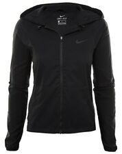 Nike Full Zip Training Hoodie Hoody Dri-Fit Women's Black XS