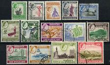 Rhodesia & Nyasaland 1959-62 SG#18-30, 1/2d-10s QEII Definitives Used #D56349