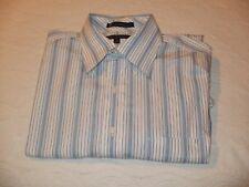 Tommy Hilfiger TLC Long Sleeved Blue Striped Shirt 16 32-33L