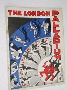 "CRAZY GANG       theatre programme.....1936....London palladium...""VARIETY SHOW"""