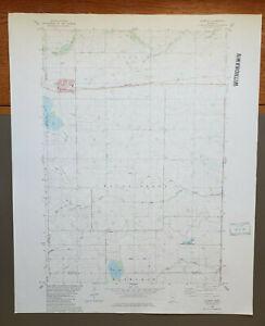 "Stewart, Minnesota Original Vintage 1982 USGS Topo Map 27"" x 22"""