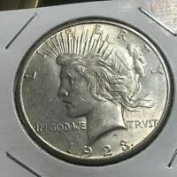 1923-S PEACE SILVER DOLLAR BRILLIANT  UNCIRCULATED COIN
