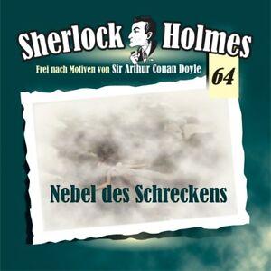 Sherlock Holmes 64 - Nebel des Schreckens CD Maritim Verlag Hörspiel Rode Gröger