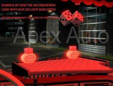 24v RED LED Light Base for Gracemate Poppy Air Freshener Truck Lorry Bus Coach