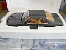 MERCEDES C126 W126 560 SEC Coupe S Klasse 1985 anthrazit grau gr KK Metall 1:18
