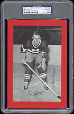 1934-44 Beehive Des Smith (Montreal Maroons) Autographed/Signed - PSA/DNA