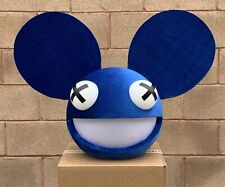 Deadmau5 Head All Blue With White Eyes Led Lights With Control