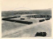 WW2 Germany Militaria Luftwaffe Flugplatz Ehrenbegräbnis Flieger Flugzeug