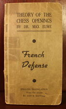 Theory of the Chess Openings French Defense 1944 Max Euwe World Champion Fischer
