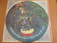 A Musical Souvenir of America on Parade Wald Disney Production 1975 PICTURE LP