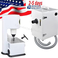 USA-370W Dental Lab Digital Dust Collector + 4500 rpm Grind Inner Model Trimmer
