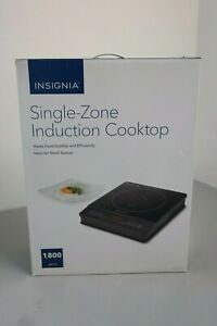 Insignia- Single-Zone Induction Cooktop - NS-IC1ZBK0 1,800 W (OB-4B)