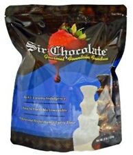 """White Chocolate Fountain Fondue 4lb """"READY TO USE"""" bag for Home Fountains"""