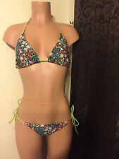 Malibu Dream girl bikini, multi colored floral, Sz. L