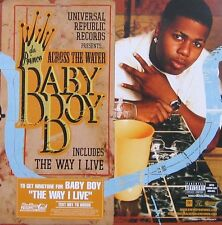 BABY BOY POSTER, DA PRINCE, ACROSS THE WATER (SQ6)
