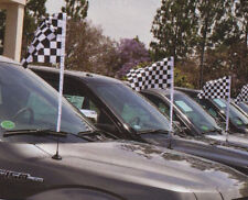 Checker Flag Antenna Flags, Supreme Cloth, Antenna Flags, Black & White Checker