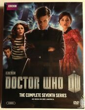 DOCTOR WHO Complete Series Seven - MINT NEW SEALED DVDS!!