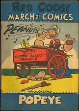 MARCH OF COMICS 66 RARE GIVEAWAY PROMO MINI F/F+ 1951 POPEYE PROMOTIONAL