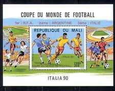 Mali 1990 Sports/Football/WC/Games/Soccer 1v m/s n27973