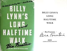 Ben Fountain~Billy Lynn's Long Halftime Walk~SIGNED~1st/1st + Photo!!