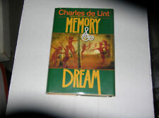 Memory & Dream by Charles De Lint (1994) SIGNED 1st/1st