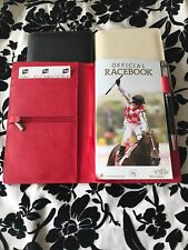 Horse Racing - Race Book Covers in Leather suitable for Melbourne Cup racebooks
