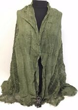 Fashion Women/Men's Solid Cotton Linen Scarf Shawl Stole Wrap PASHMINA ,Green