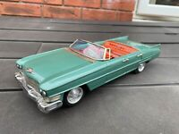 Bandai Battery Operated Cadillac Convertible - Excellent Vintage Original Rare