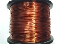 "Essex Magnet Wire, 12 AWG Gauge 0.0808"" 5 LB 250ft, Enameled Copper Coil Winding"