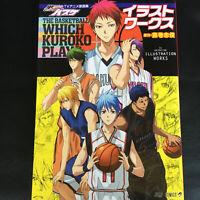 Kuroko's Basketball TV Animation Illustration Works   JAPAN Anime Art Book Genga