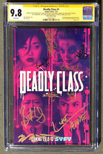 CGC 9.8 SS Deadly Class #1 SDCC 2018 photo variant Signed by 9 Cast members SYFY