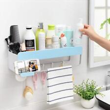 Bathroom Shelf Storage Organiser,Qiluck Adhesive Wall Mount Rack Caddy Self...
