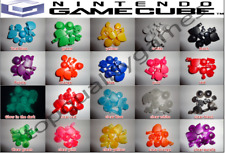 Nintendo Gamecube Controller Mod Colorful Complete button set with Thumbsticks