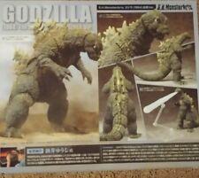Bandai Tamashii Nations S.H. MonsterArts Godzilla 1964 Emergence w/brown shipbox
